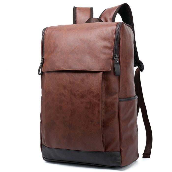 Classic Tas Multifungsi 358 Coklat Daftar Harga Terlengkap Indonesia Source · Tas Ransel England Vintage Style PU Leather Backpack Chocolate