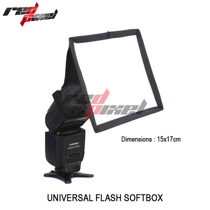 UNIVERSAL FLASH SOFTBOX 15X17CM