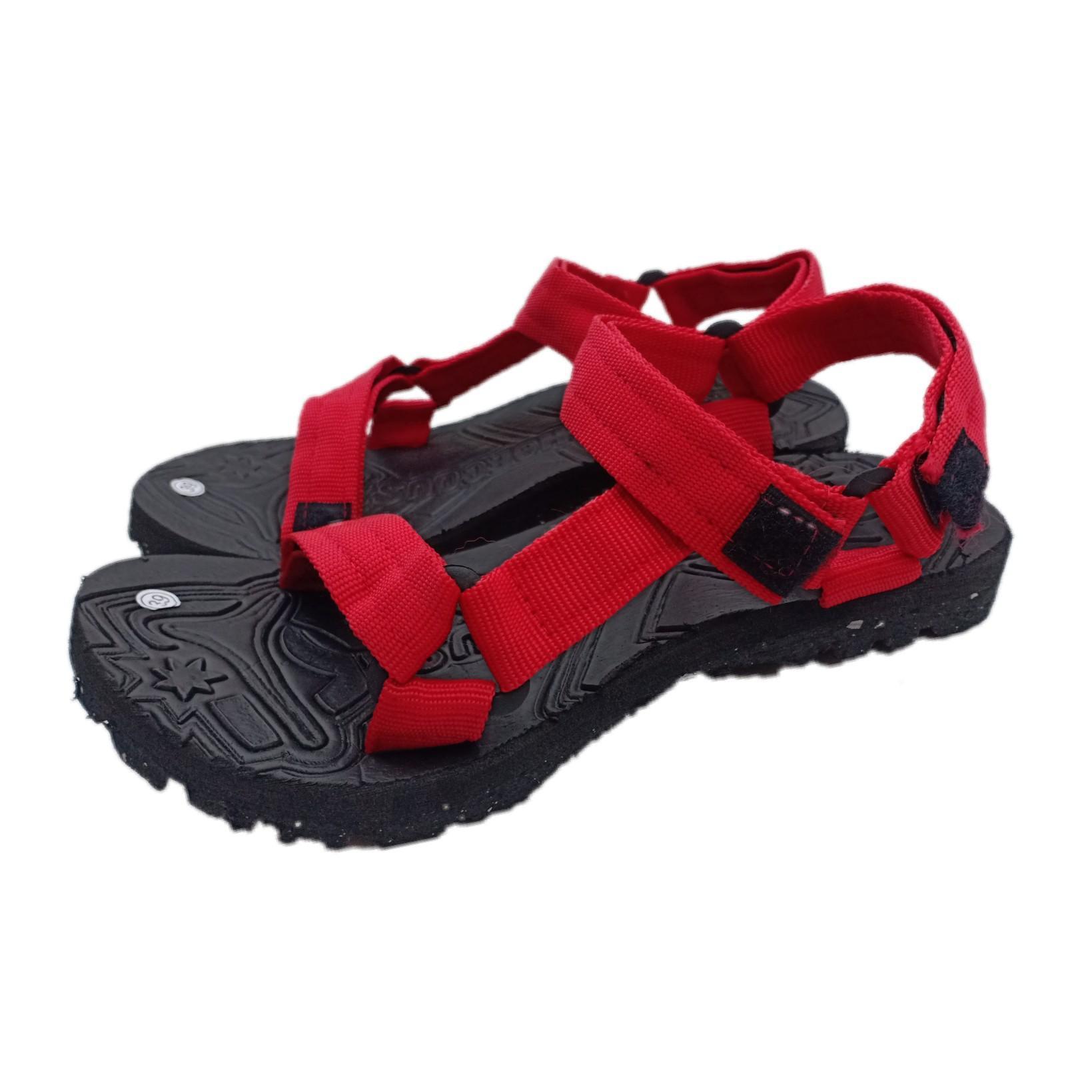 Arsy Sport / Sandal Gunung Pria / Sandal selop / Sandal Pria / Sandal Murah - Merah