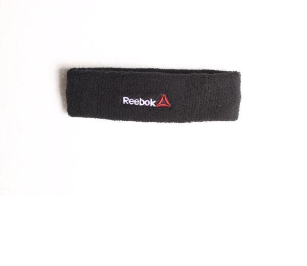 Aksesoris Olahraga|Ikat Kepala Basket|Ikat Kepala Lari|Headband Fitness|Headband Reebok Murah|Headband Reebok Original|Basic Headband Reebok White-H7021