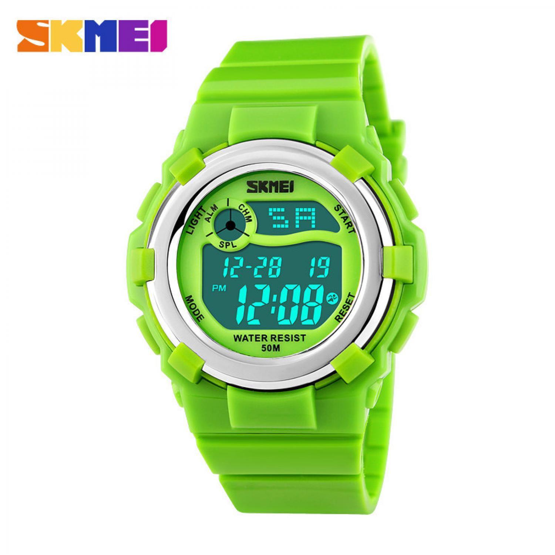Kelebihan Skmei Children Sport Silicone Led Watch Water Resistant Jam Tangan Pria Solar Power 50m Ad1064e Dg1161