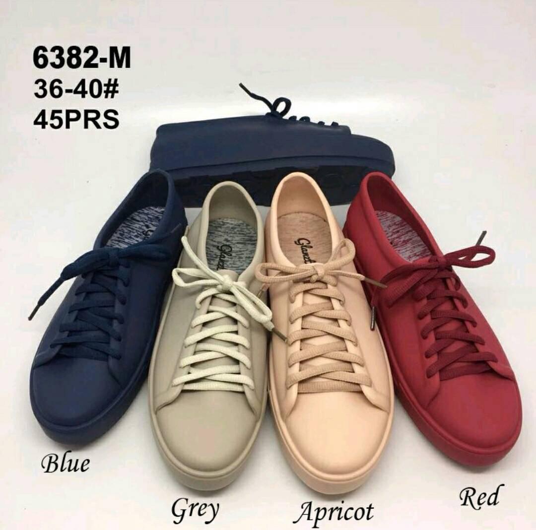 Cek Harga Baru Sepatu Jelly Bara Hokky Shoes Tali Silicon Silikon Sneakers Cewek Silicone Kets Dd6382els