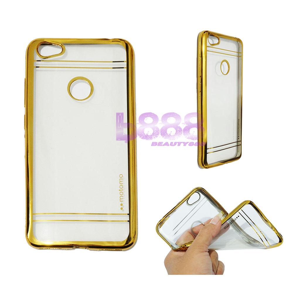 Motomo Chrome Case Xiaomi Redmi Note 5A Shining Chrome / Ultrahin Xiaomi Note 5A List Chrome