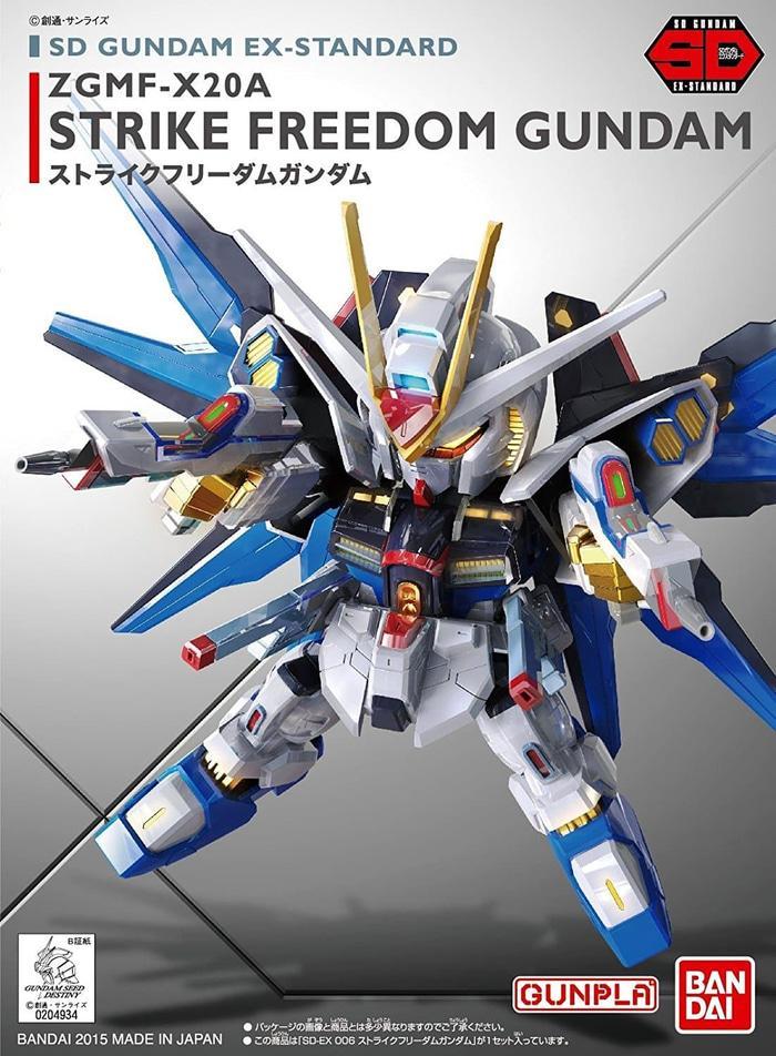 BANDAI, SD EX-Standard 006 Strike Freedom Gundam