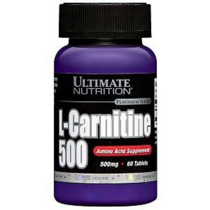 SUPLEMEN FITNESS L Carnitine L-Carnitine 60 caps UN MURAH - QZ9Evg