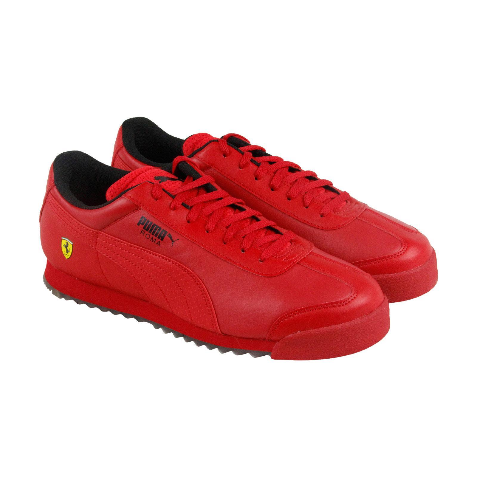 Puma sepatu casual Ferrari Roma - 30601101 - merah