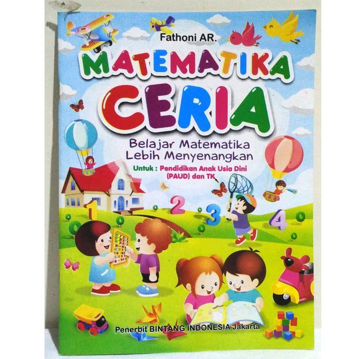 Buku Matematika Ceria (fathoni) - Buku Belajar Matematika By Edantoys