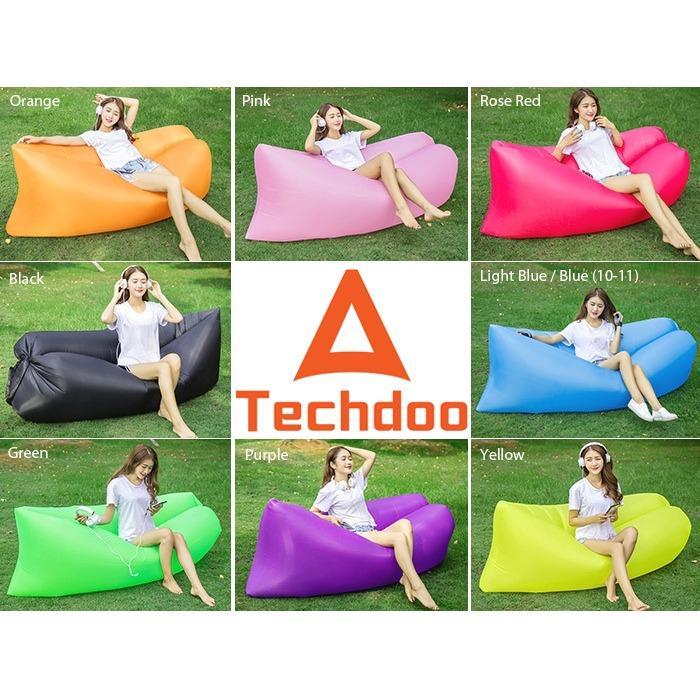 Lazy Air Bag lazybag laybag Air Sofa bed  kursi angin Outdoor Camping Inflatable Sofa Angin Waterproof Lightweight bed