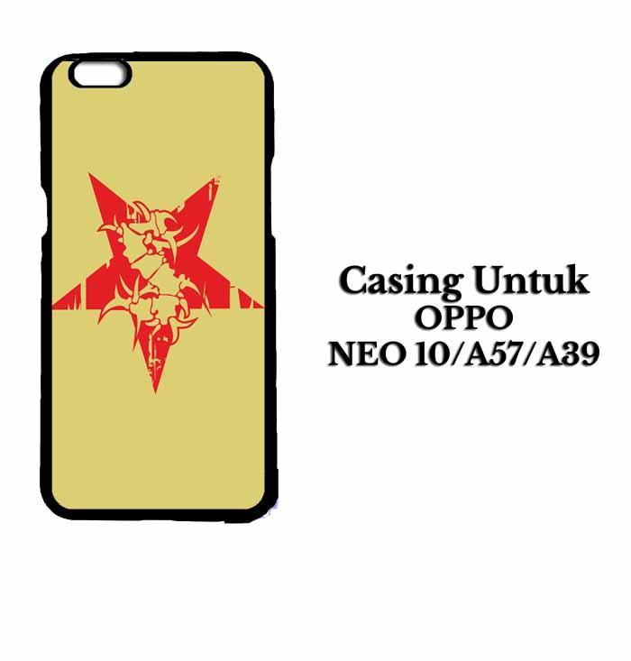 Casing OPPO A57 sepultura logo Hardcase Custom Case Se7enstores