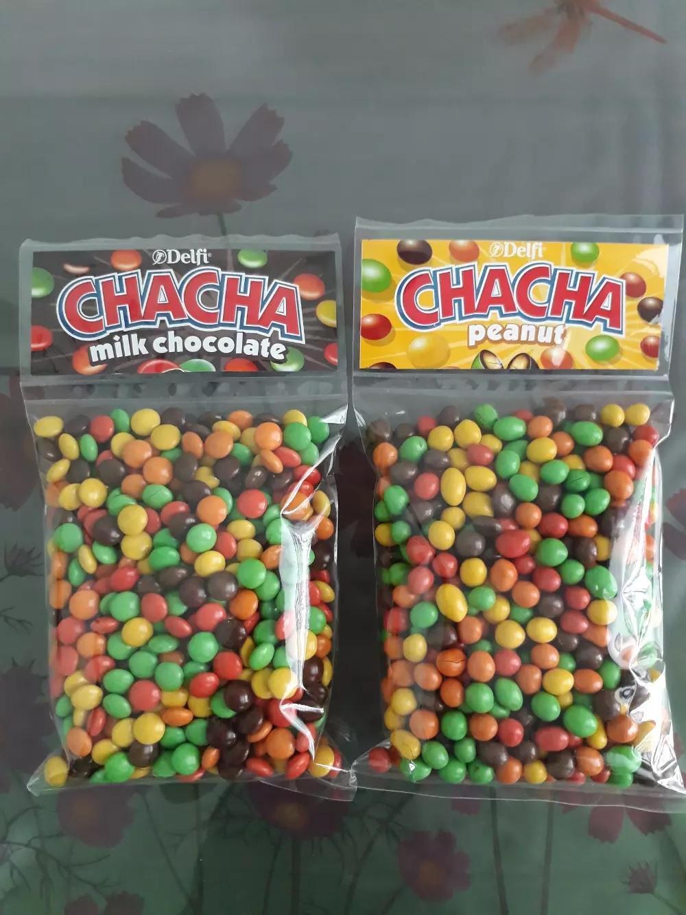 Cha Cha Coklat Delfi Chacha Grosir Cokelat Kiloan 500 Gram Chamilk