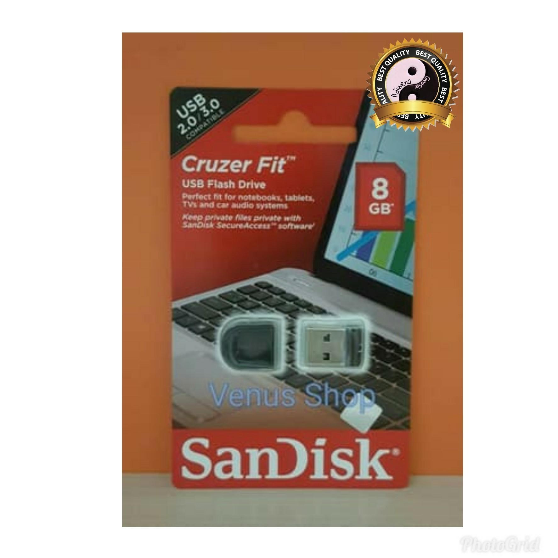 Buy Sell Cheapest Flashdisk Sandisk 8 Best Quality Product Deals Flasdisk 8gb Gb Original Promo Usb Cruzer Fit Cz33 Memory Cz 33