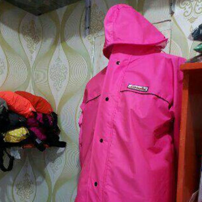 Jas Hujan Rain Coat Edelweiss Ping Size : S-M-L-Xl Murah Berkualitas - Khnfolsi
