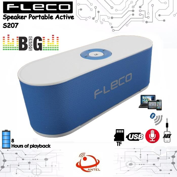Fleco Original Wireless Bluetooth Speaker Portable Active S207