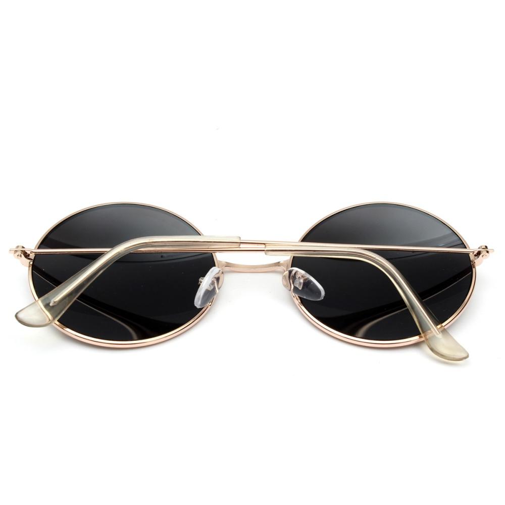 Pria Wanita Vintage Kacamata Bulat Steampunk Logam Membalik Ke Atas Harga Terbaru Fashion Cermin Lensa Adapula Kopi Internasional