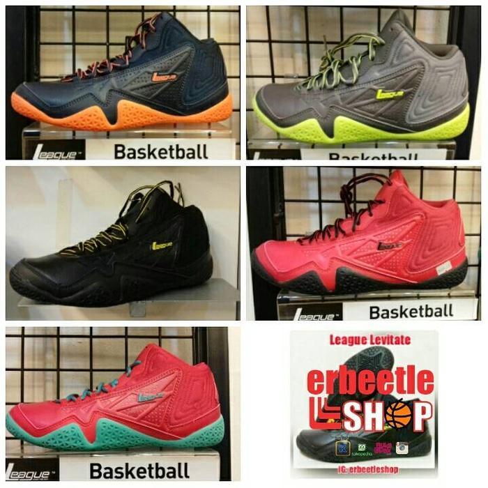 Sepatu Basket League Levitate, ed 2016, ORI BNIB
