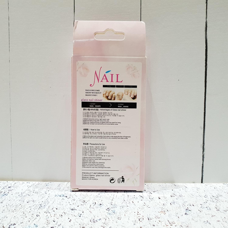 Nude Nail Tempered Glass Shiner Kikir Kuku Daftar Update Miniso Official Water Based Polish 03mn 3344get2 Pengkilap Made In Korea Dus 3