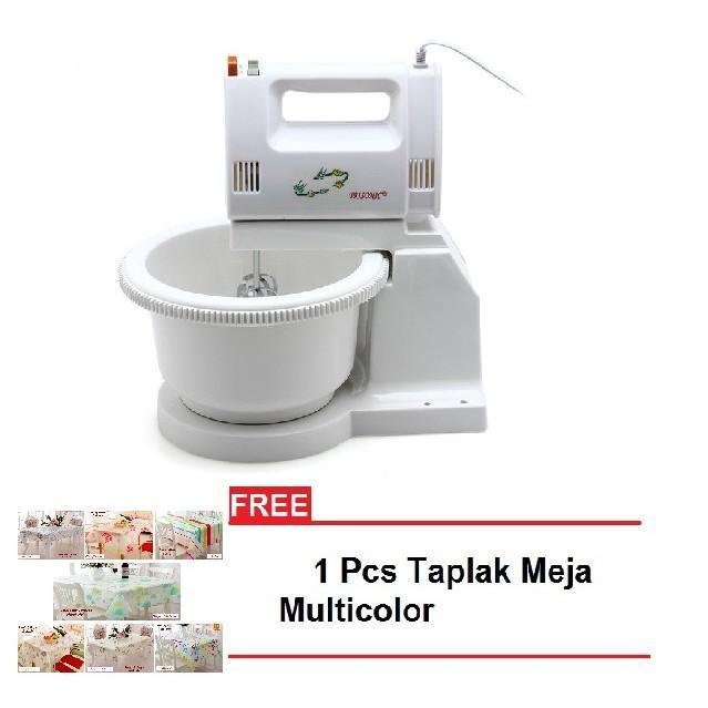 Trisonic T1505 Mixer + Free Taplak Meja Uk. 130x180 - Random