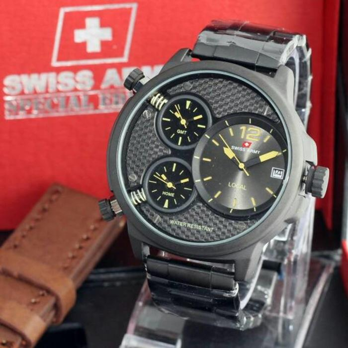 JAM TANGAN SWISS ARMY ORIGINAL DHC+ SWISSARMY ORI EXPEDITION