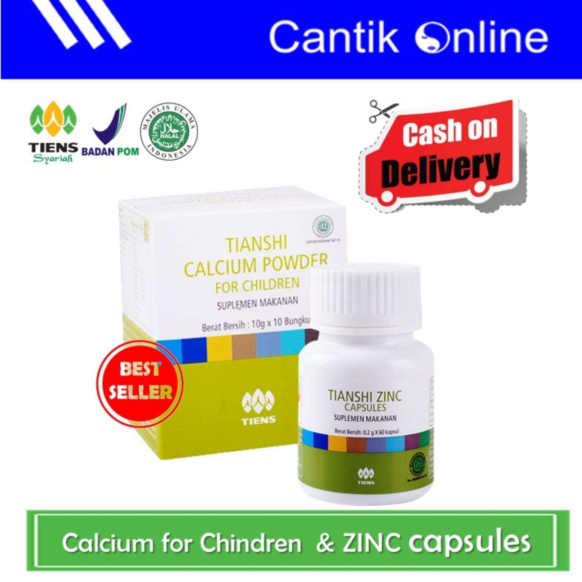 Tiens Paket Penggemuk Badan Premium Free Kuas Masker Zinc Spirulina 1 Kecerdasan Pertumbuhan Anak Hemat 2 Calcium For Children