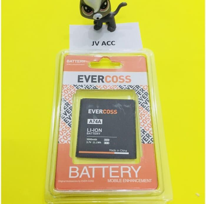 GROSIR BATTERY BATERAI BATRE EVERCOSS A74D A74A A74C Winner T ORIGINAL 99%