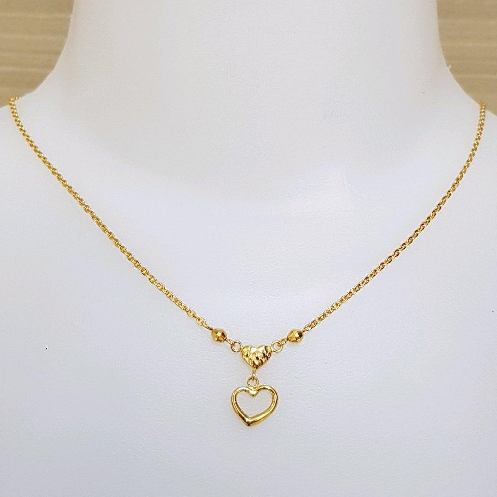 Terbaru Kalung Emas Asli Kadar 875 Kalung UBS myLove / Perhiasan Emas Wanita / Kalung Remaja / Gold Necklace / Emas UBS