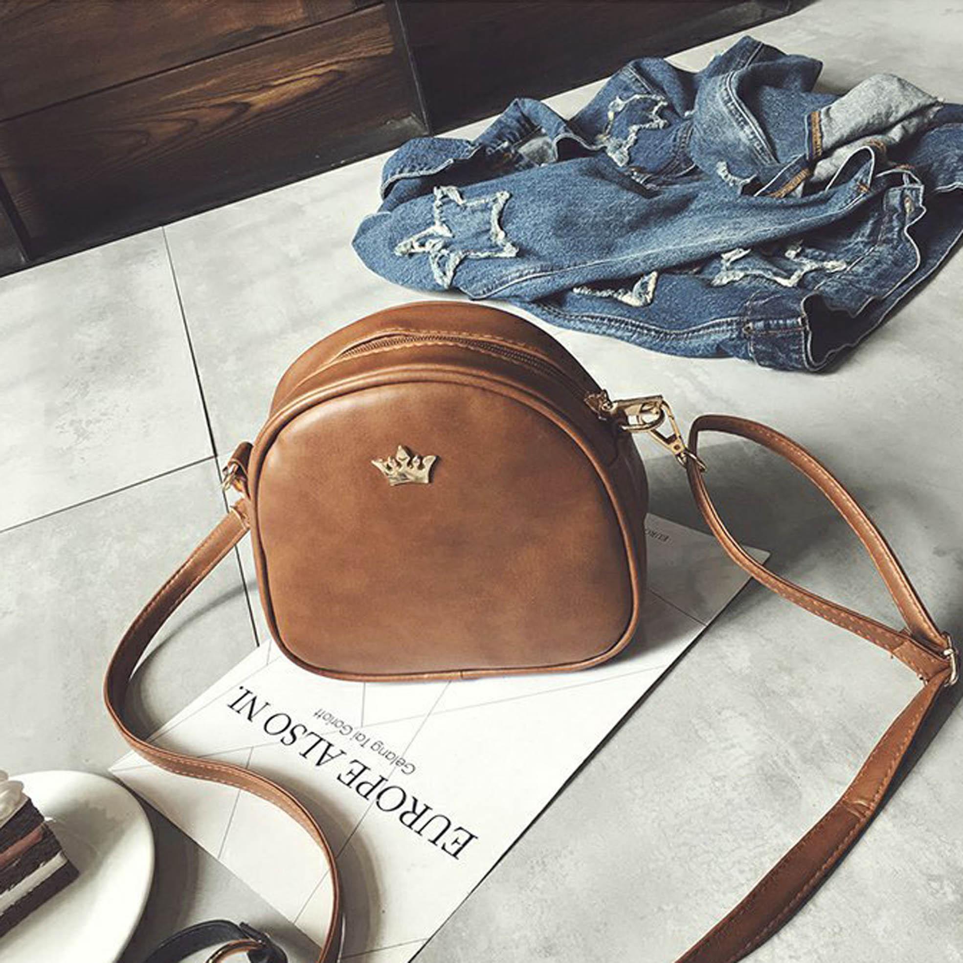 OILA tas pundak mahkota / fashion crown small shoulder bag bta320