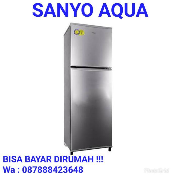 Kulkas 2 Pintu Sanyo Aqua D240 No Frost