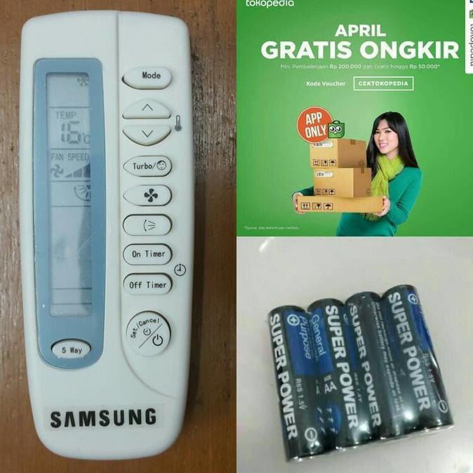SPECIAL!! Remot / Remote AC Samsung