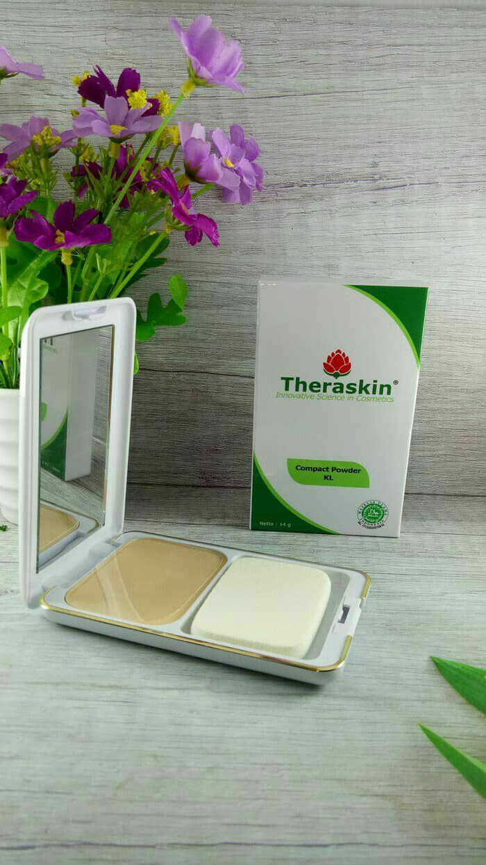 Fitur Theraskin Compact Powder Dan Harga Terbaru Katalog Lengkap Kl