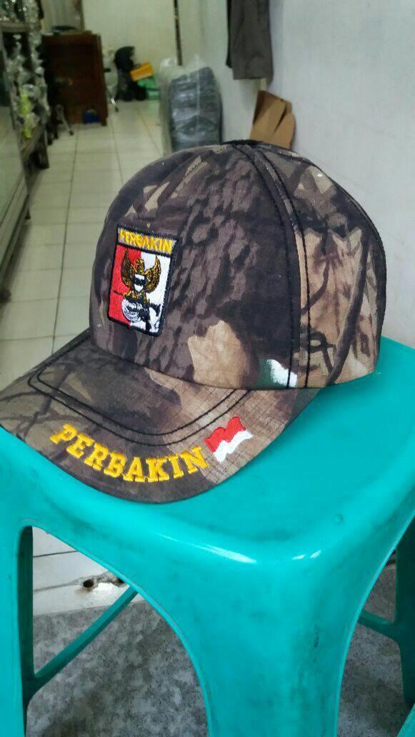 TOPI PERBAKIN CAMO FULL BORDIR Terlaris di Lazada