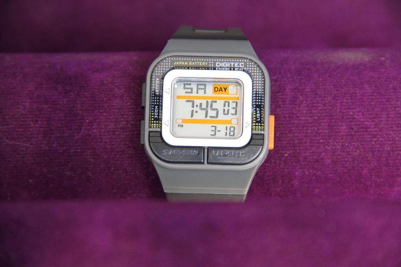 Digitec - DG 3026 - Jam tangan Anak - Anak - Rubber strap - Digital Profesional
