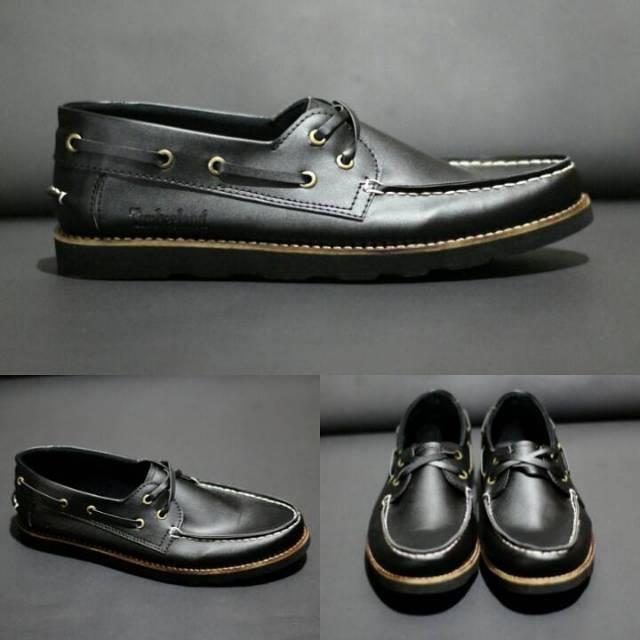 Sepatu Boots Pria Kerja Kantor Formal Timberland Tracking Adventure / Sepatu Pesta Hitam & Cokelat