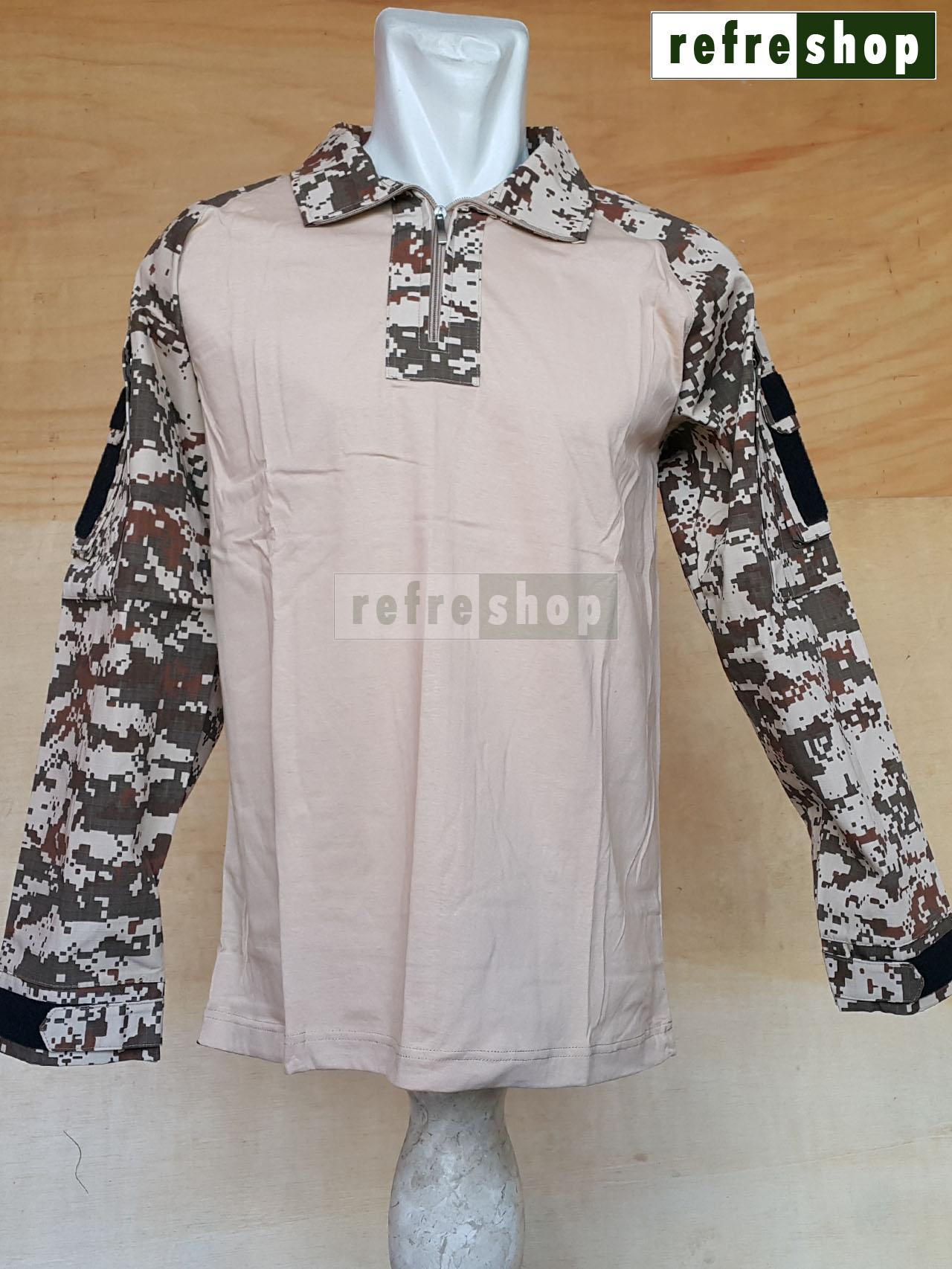 ... Kaos Tactical Militer Nyaman Berkualitas Cotton Ripstop Tebal Army KTCCRSDD - 3 ...