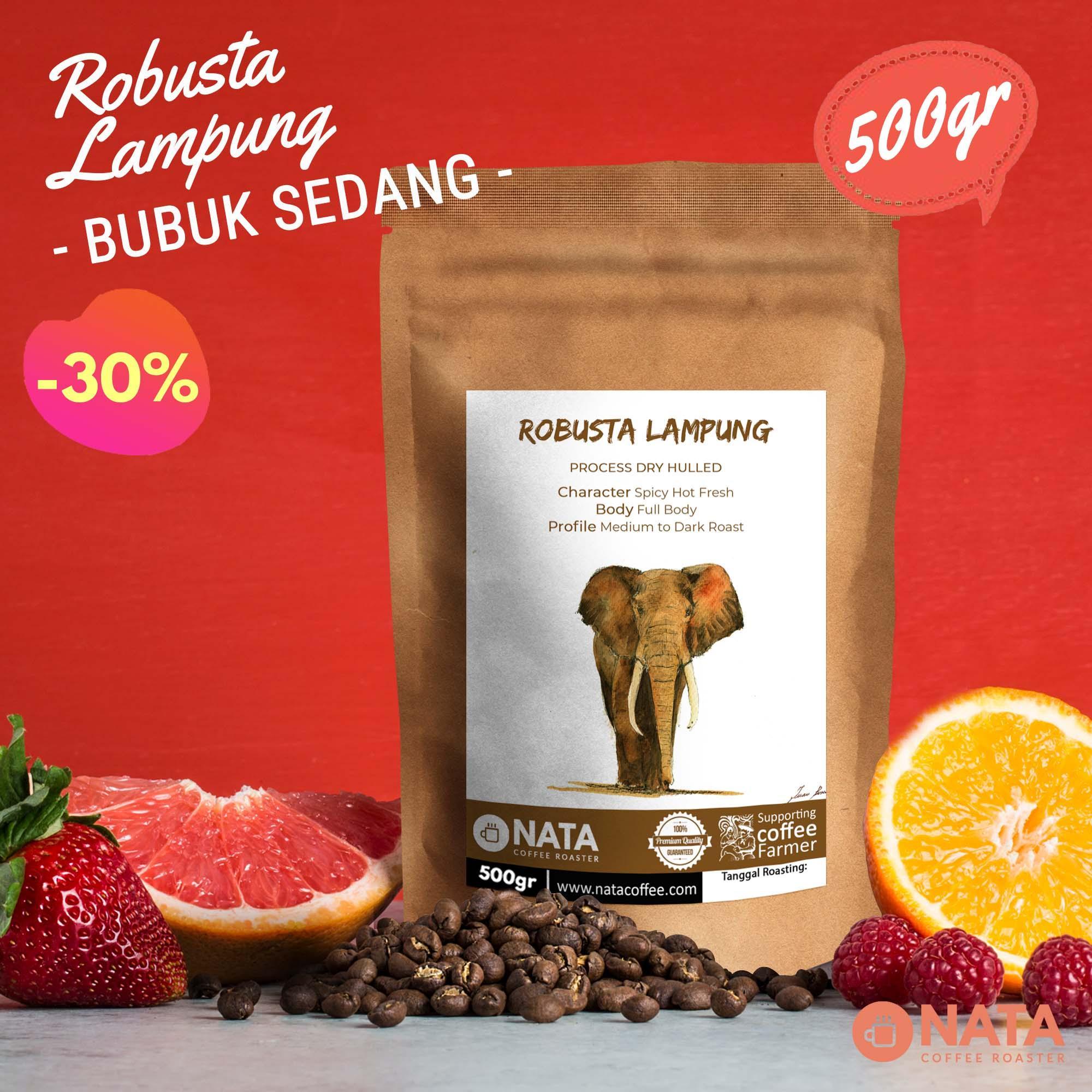 JJ Royal Coffee Toraja Arabica Ground (Kopi Bubuk) 200gr. Source · Nata Kopi Robusta Lampung 500gr - BUBUK SEDANG