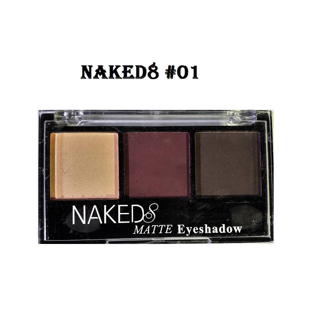 Eyeshadow 3 Colors Naked8