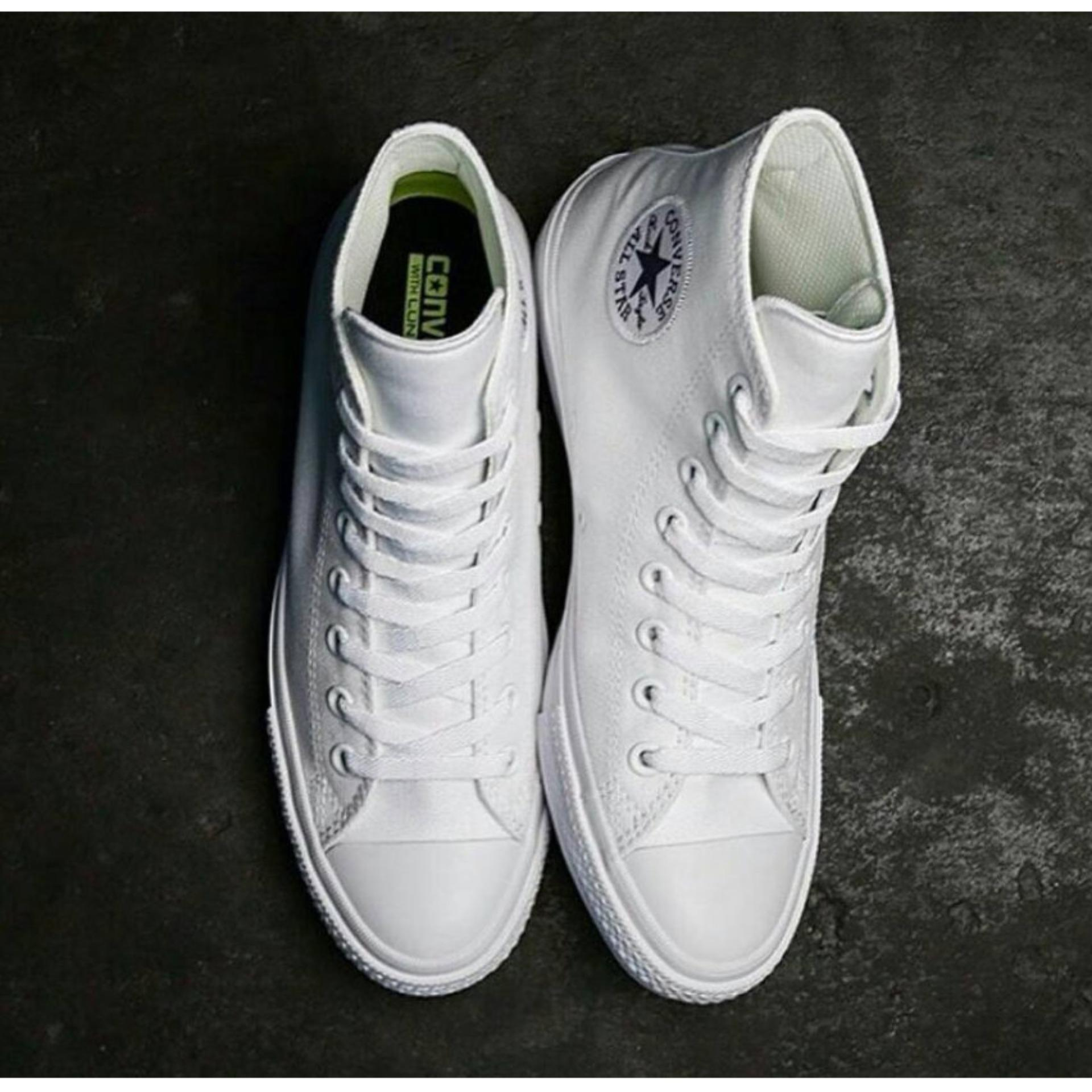 Converse high CT white