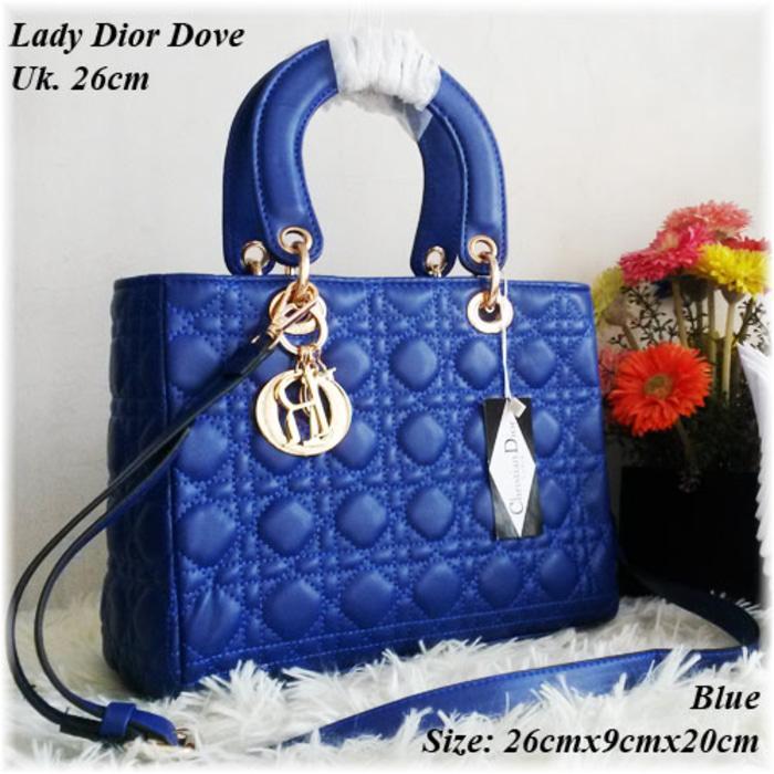 Tas Wanita,Tas Branded,Lady Dior,Tas Murah,Tas Kw,Tas Import,Blue - HZ0p4n