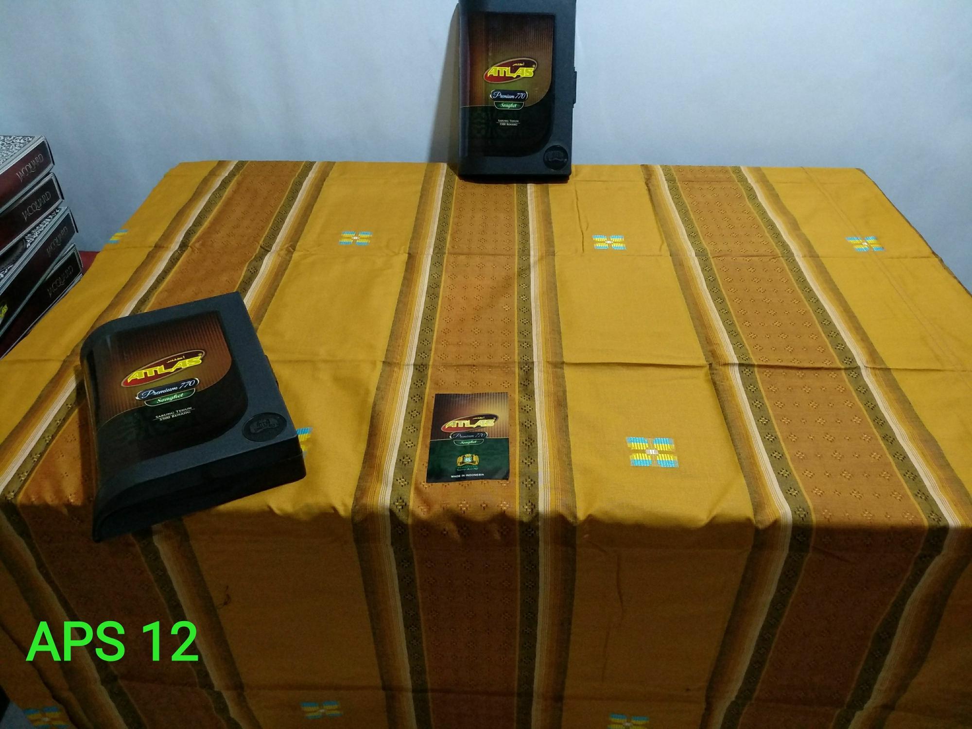 Sarung Atlas 770 premium songket /Sarung Atlas premium /Sarung Atlas Songket /Sarung Murah - Original Product