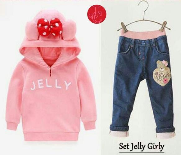 Milea Secret's - Kid Joy Girly - Stelan Baju Anak