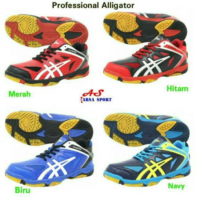 Sepatu Voli Profesional Aligator Volley Badminton Professional Alligator Volly
