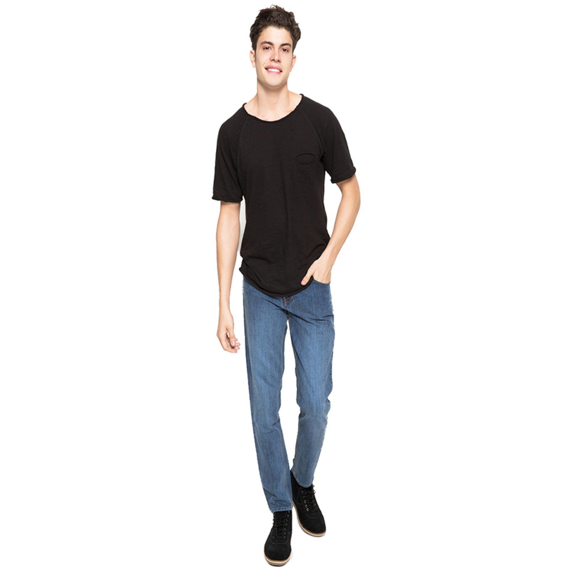 ... 2nd Red Celana Jeans Slim Fit Premium Full Spray Biru 133216 - 4 ...