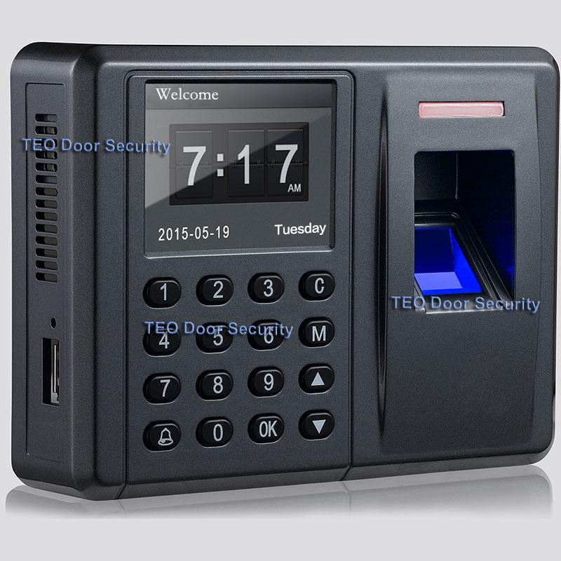 Biometric FP Time Attendance&Acess Control Fingerprint Reader Access Controlador de acceso de la puerta de la huella digital - intl