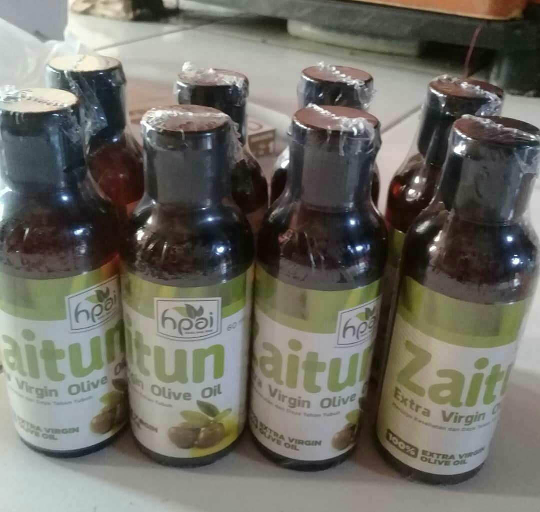 Harga Minyak Zaitun Hpai 250ml Termurah Daftar Terbaru Dan Extra Virgin Oil Hni