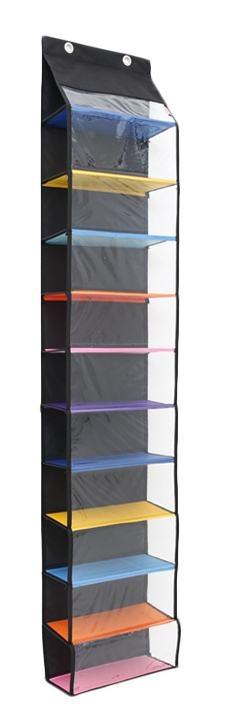 Spesifikasi dari Radysa Hanging Shoe Organizer Rak Sepatu Gantung Tanpa Resleting - Rainbow