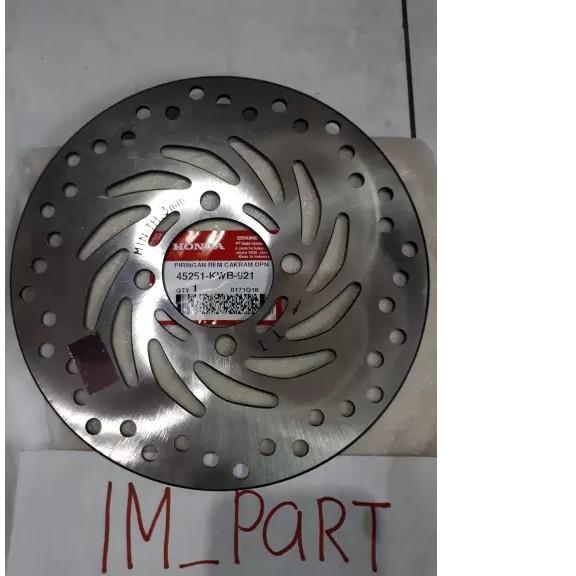 Piringan Cakram Depan Blade Revo 110 New Supra X125 New Blade Revo Fi Supra X125 45251-Kwb-921