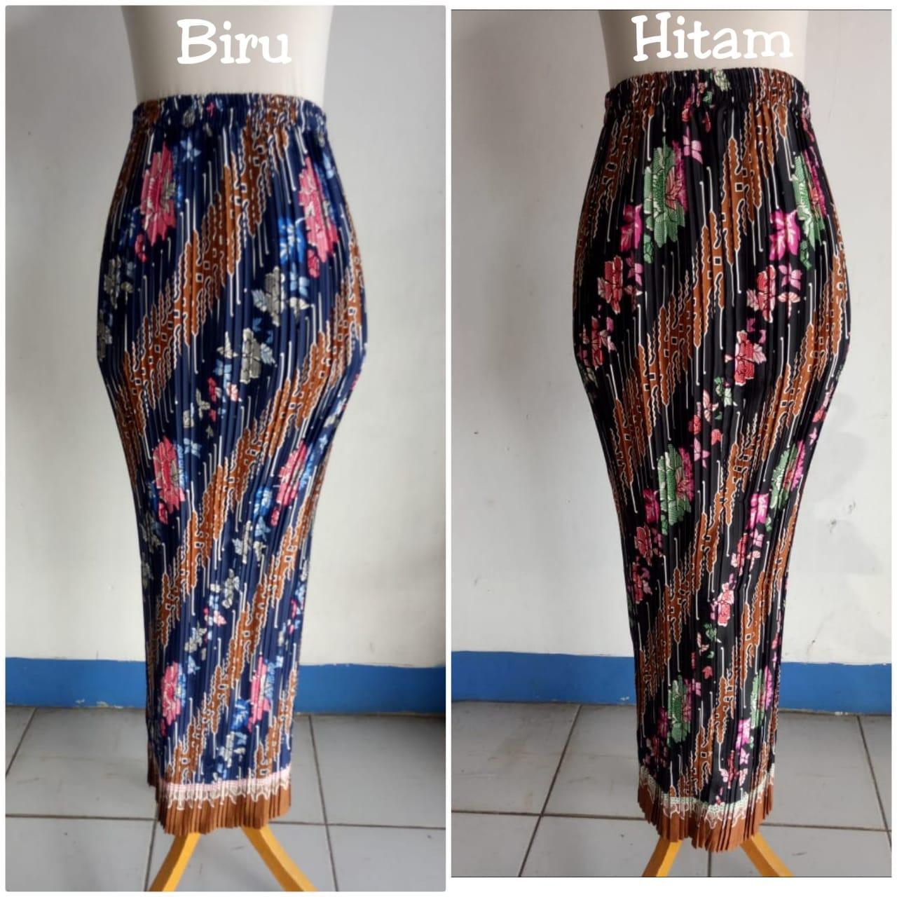 SB Collection Rok Plisket Githa Maxi Panjang Jumbo Batik Wanita