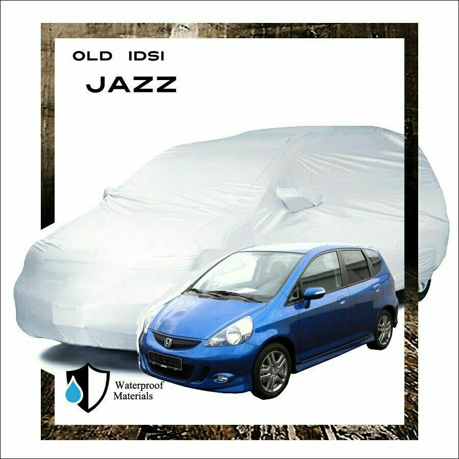 Fit On Body Cover tutup sarung mobil Honda Jazz lama IDSI, murah bagus