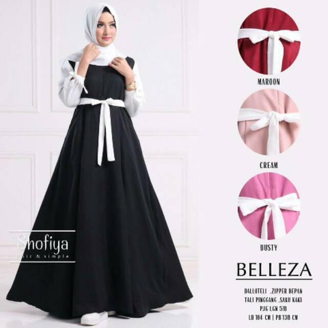 Baju murah - Belleza cream