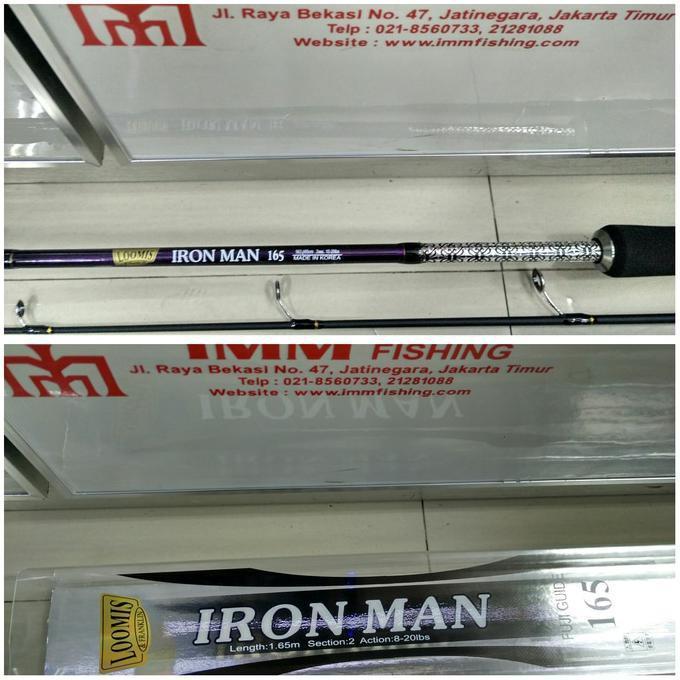Joran Daido Loomis Iron Man 165 - Kjsfhia