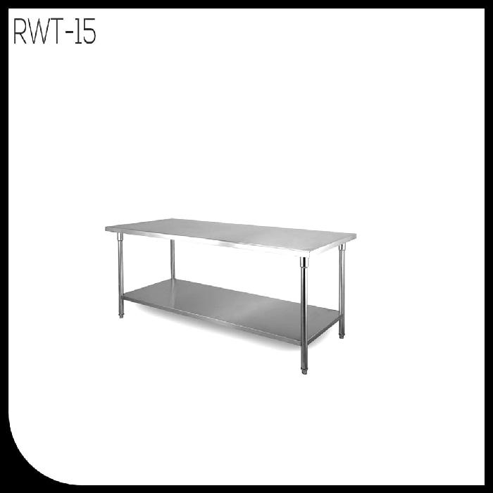 meja dapur/worktable stainless steel  Mutu RWT-15